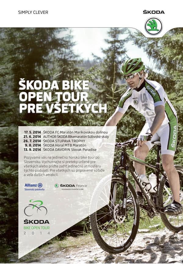 Skoda bike tour