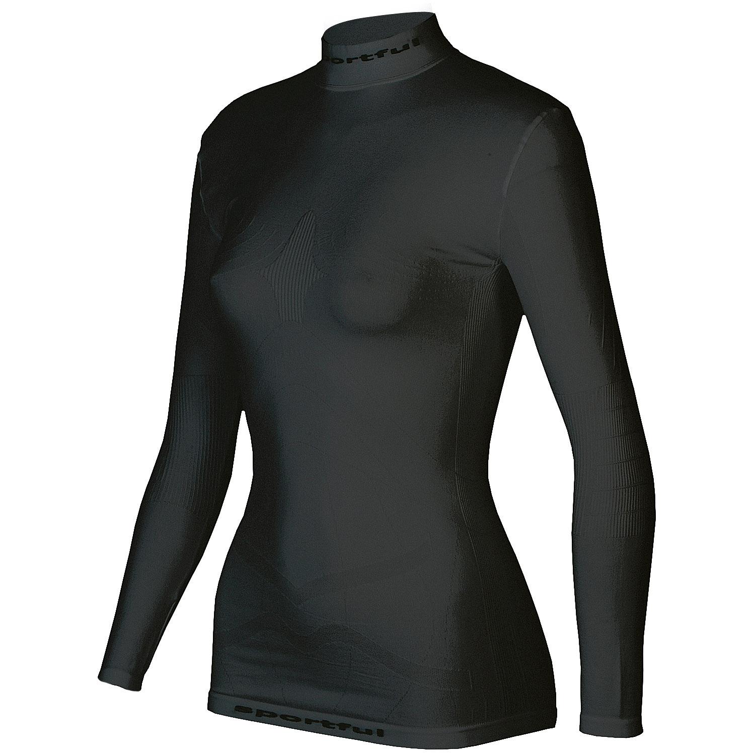 d772162a8b1f Výpredaj. -46%. Sportful Second Skin Deluxe Tričko dlhý rukáv dámske čierne