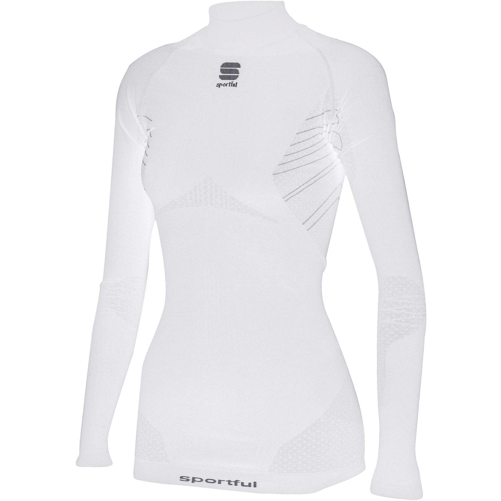 d7a741b04ef9 Sportful Second Skin Deluxe tričko dlhý rukáv dámske biele