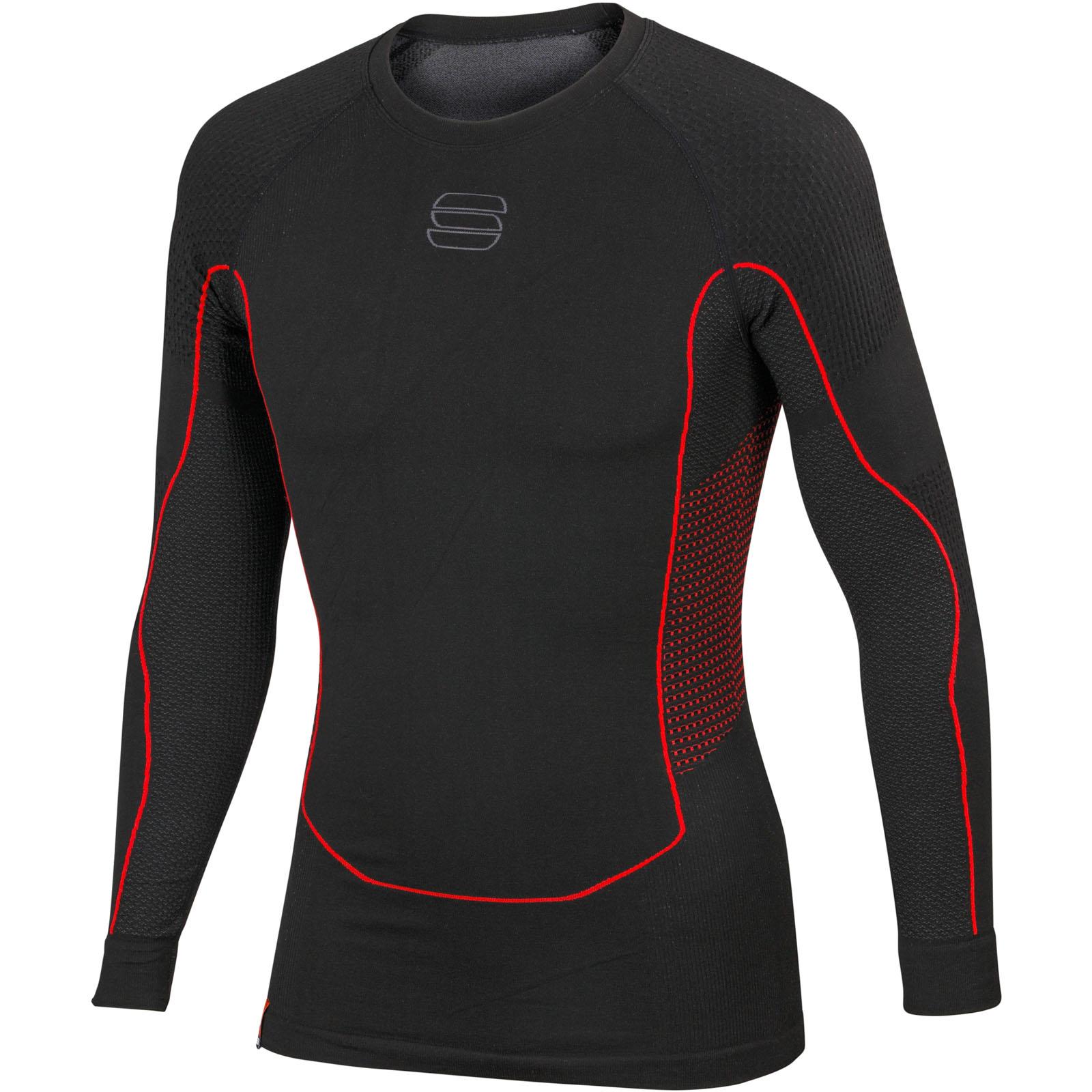 f9db4de68418 Sportful 2nd Skin Tričko s dlhým rukávom čierne