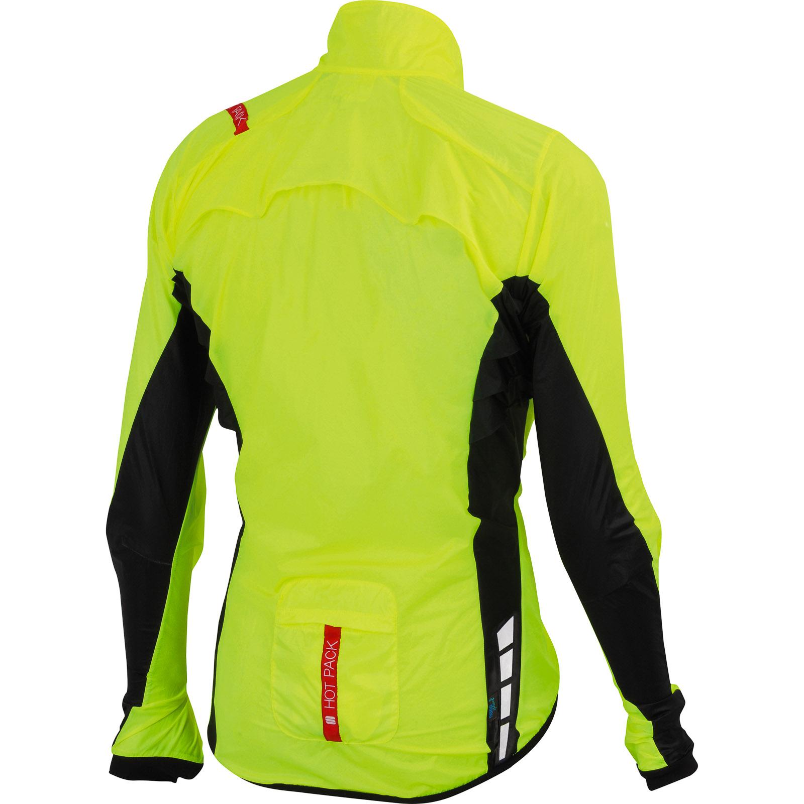 636ee9aff4665 Sportful Hot Pack 5 bunda fluo žltá/čierna. Pre absolútny zážitok prosím  použite prehliadač s javascriptom