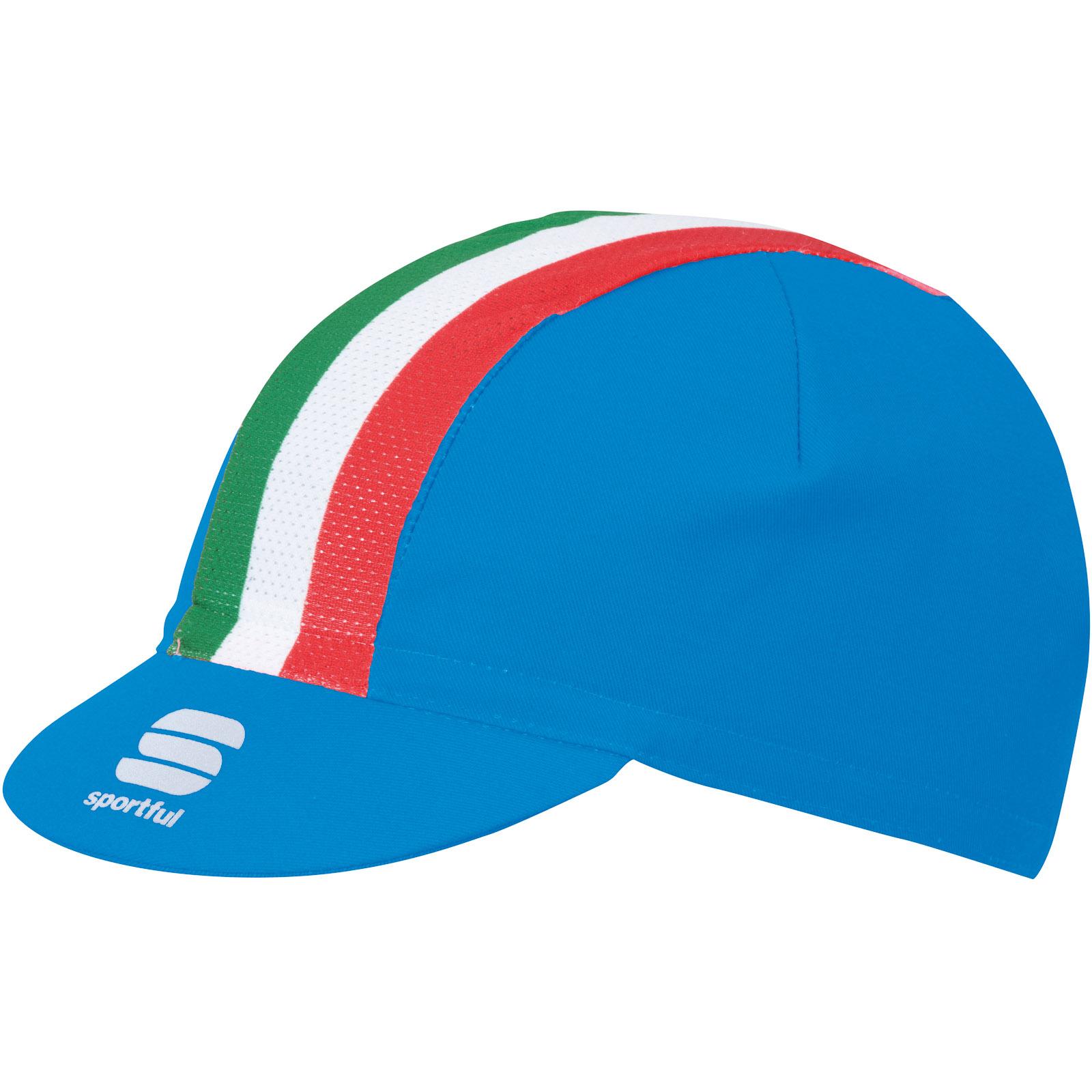 6cacc980d Sportful Italia čiapka so šiltom modrá/Italia