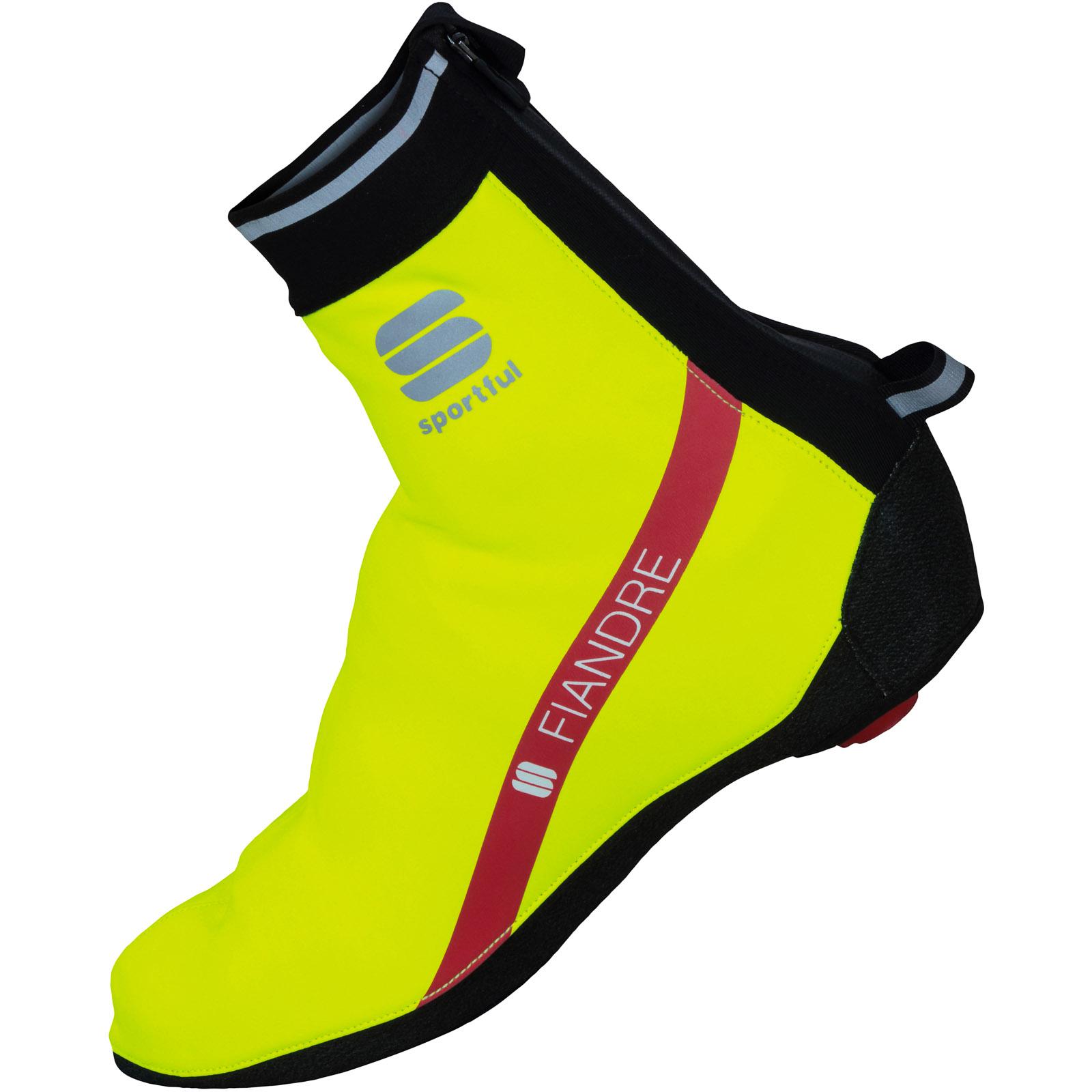 75140f25a83e Sportful Fiandre Gore WindStopper návleky na tretry fluo žlté