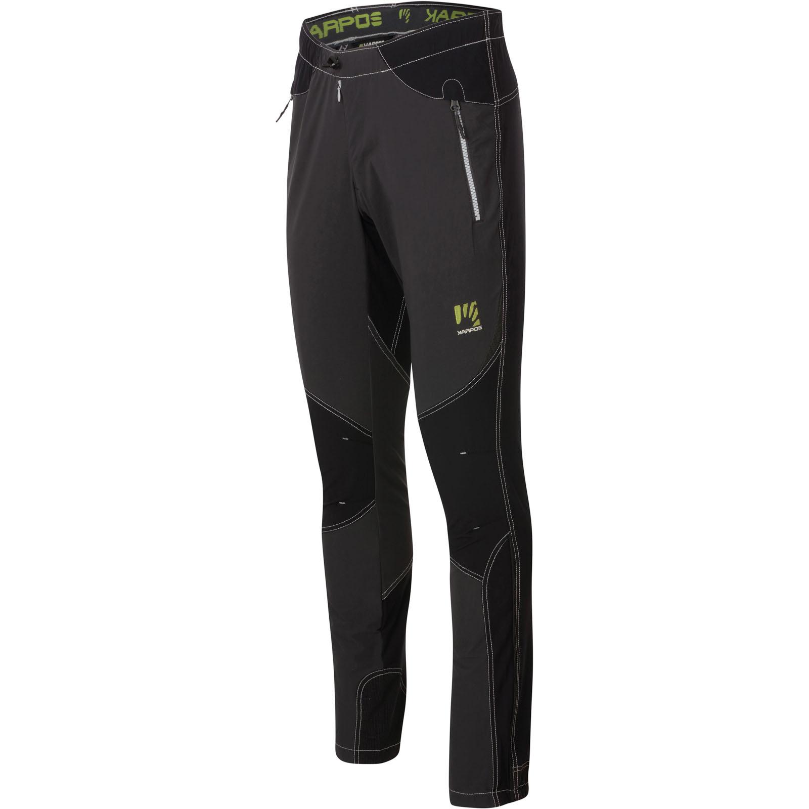 651f6771c97d7 Karpos Rock lezecké nohavice sivé/čierne