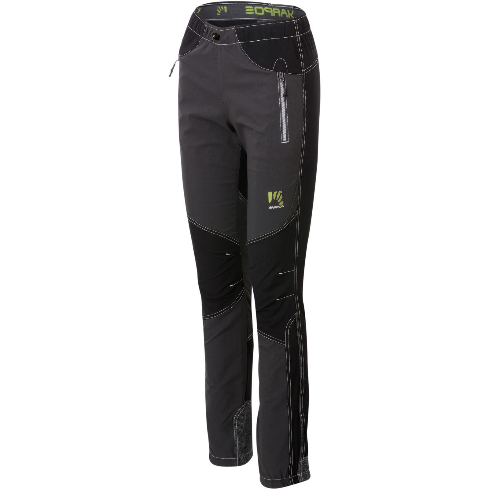 11e3c1cdc1c3 Karpos ROCK dámske nohavice sivé čierne