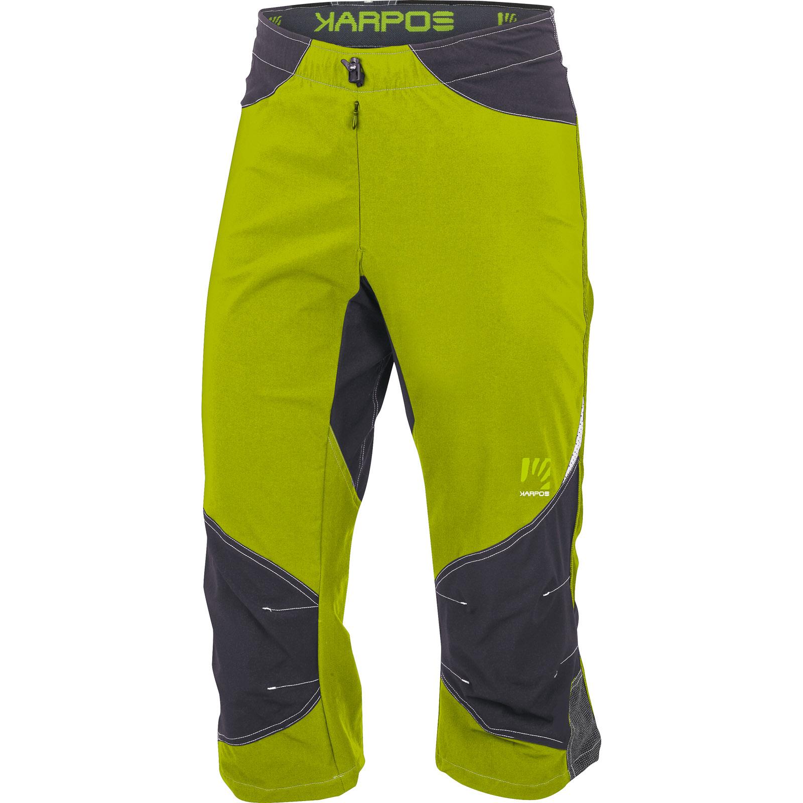 930eda7f8 Karpos CLIFF 3/4 nohavice svetlozelené/antracit