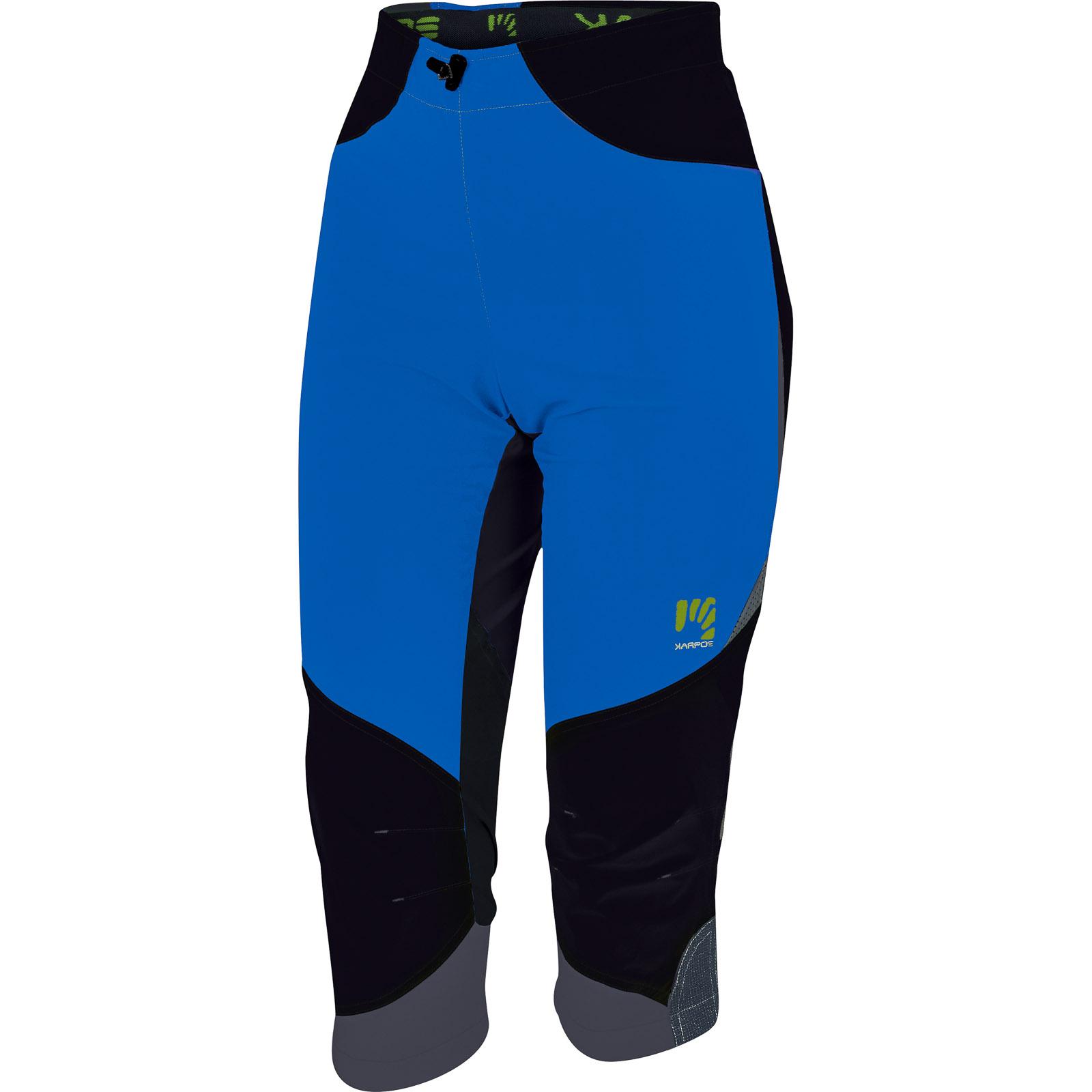 6961f7540a5d Dámske 3 4 outdoor nohavice Cliff modré čierne