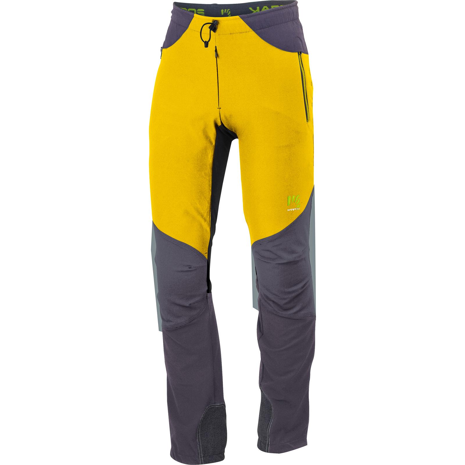 2d3c963b069f Karpos CEVEDALE nohavice žlté sivé