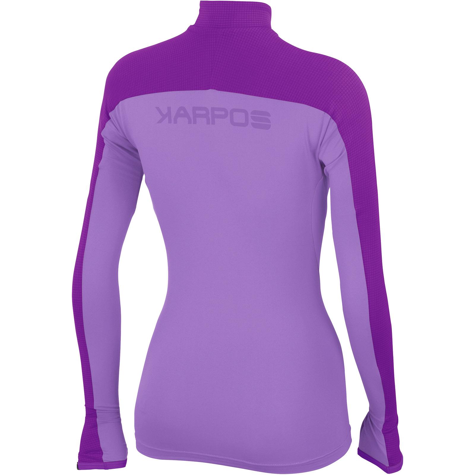 15c202bd763f Karpos RISE dámske tričko s dlhým rukávom fialové
