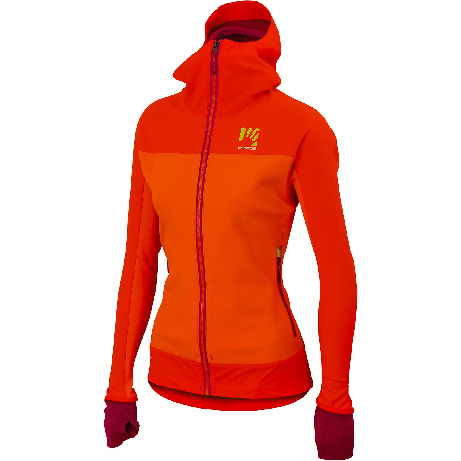 Karpos Mountain dámska bunda červená oranžová 78271ebacef