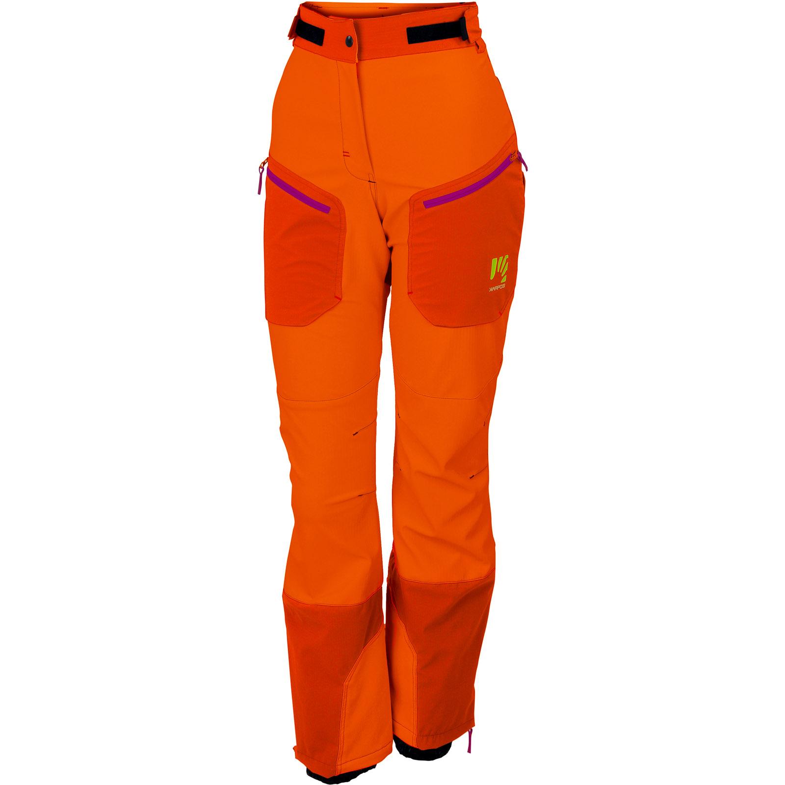 1f53203f6905 Karpos Mountain dámske nohavice červeno-oranžové