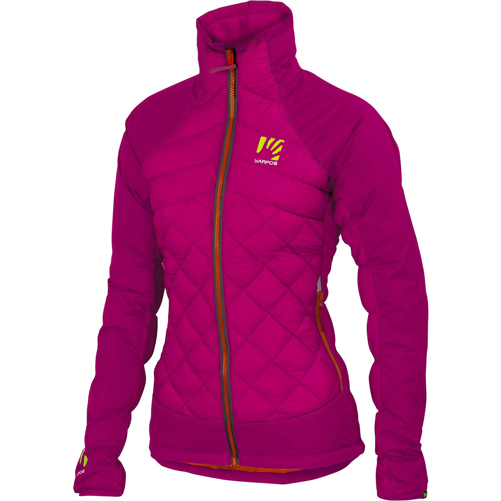 Karpos Lastei Active dámska zimná bunda tmavoružová 5990bed24d1