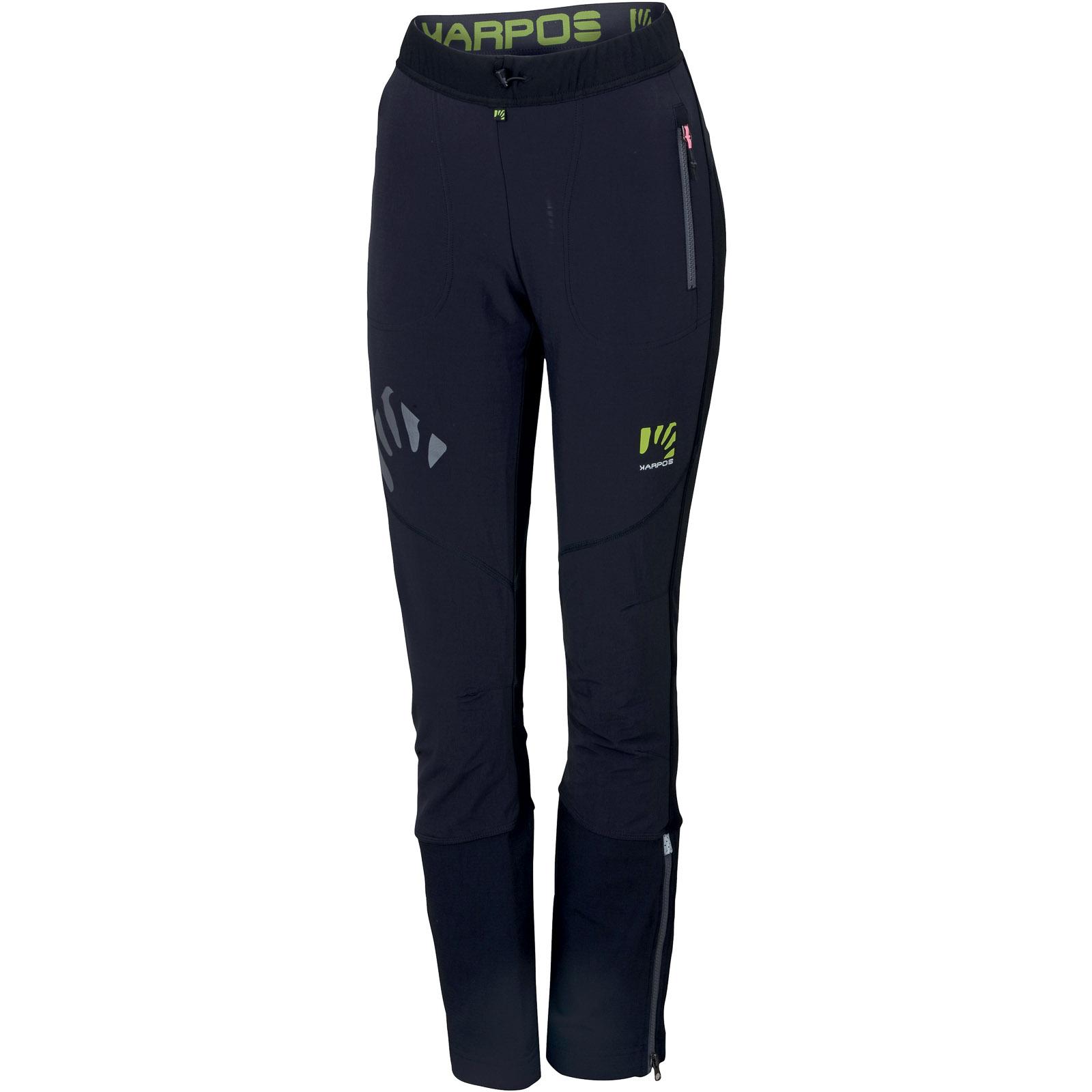 Dámske nohavice na skialp ALagna Plus čierne c1fa50e6248