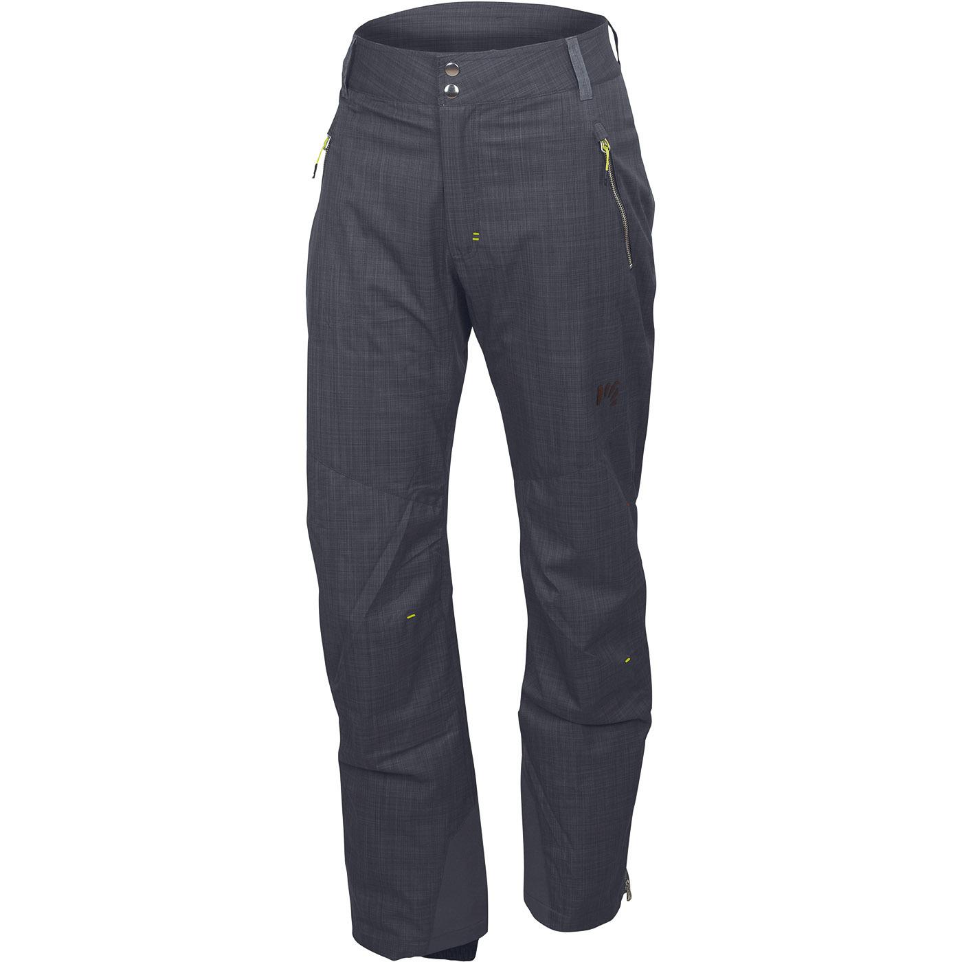 37e833d8df6c Pánske lyžiarske nohavice Karpos sivé