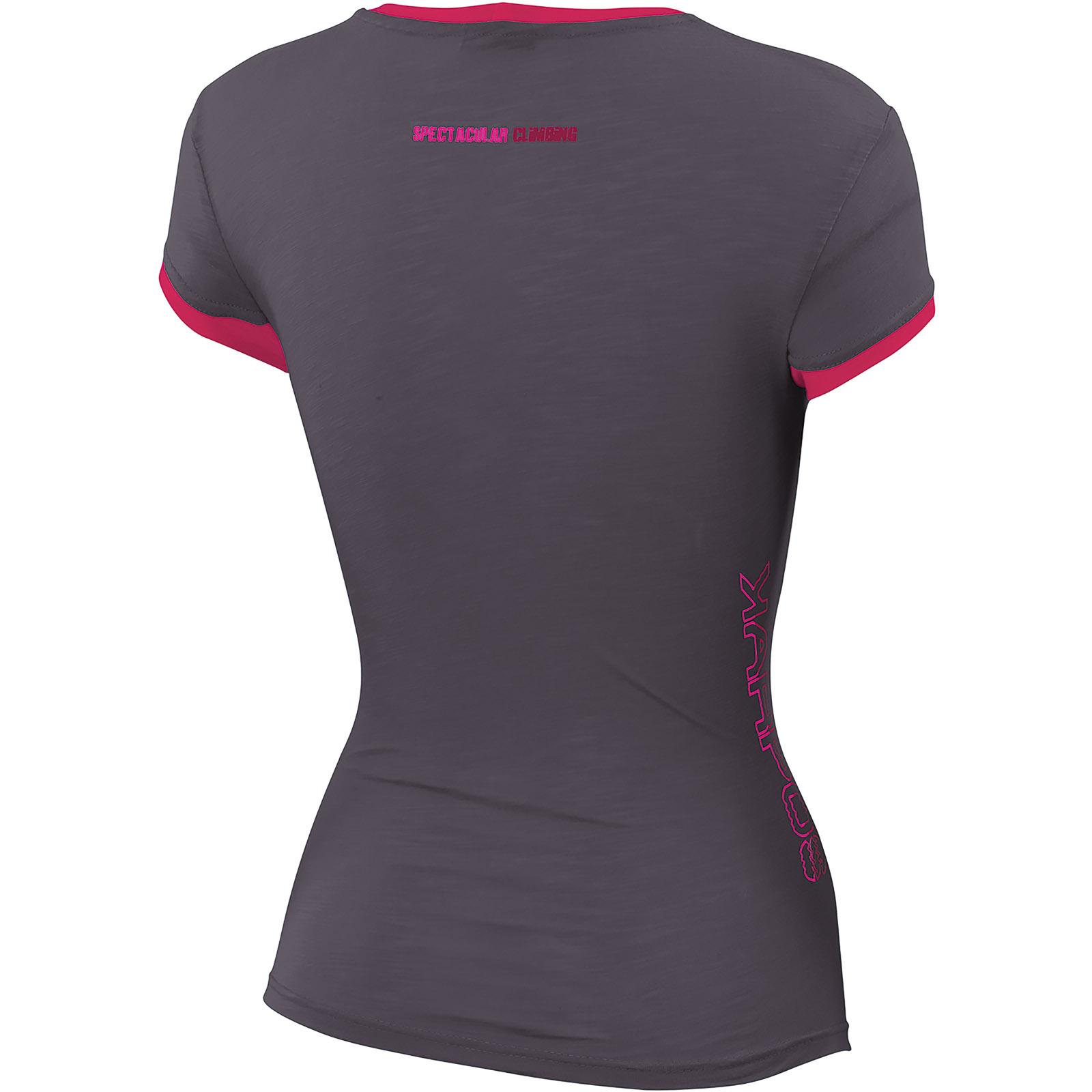 a042da5cd4f8 Karpos PROFILI LITE Dámske tričko tmavosivé ružové. Pre absolútny zážitok  prosím použite prehliadač s javascriptom