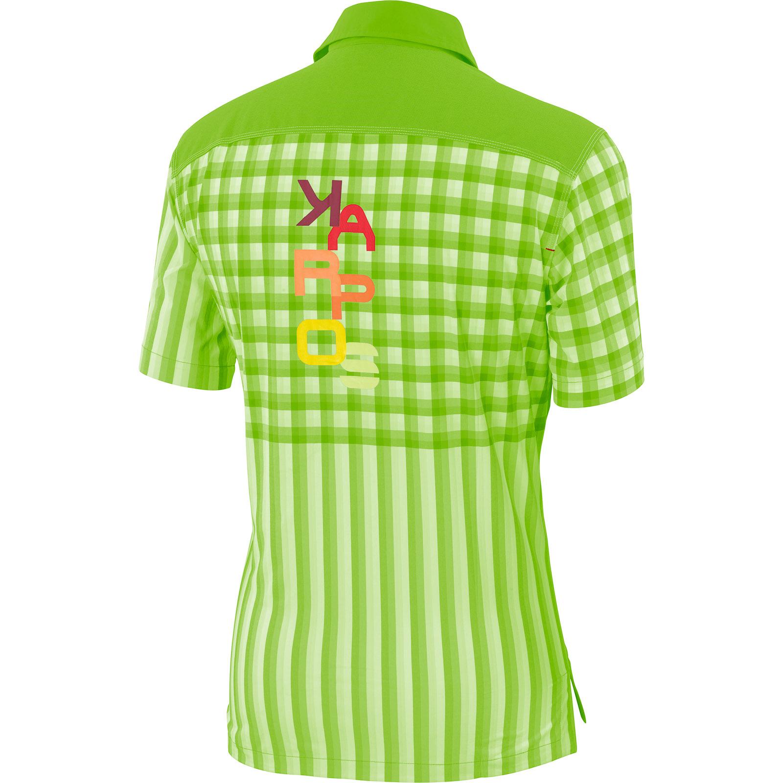 a28b13d71c6b Karpos FREE SHAPE outdoorová košeľa zelená. Pre absolútny zážitok prosím  použite prehliadač s javascriptom