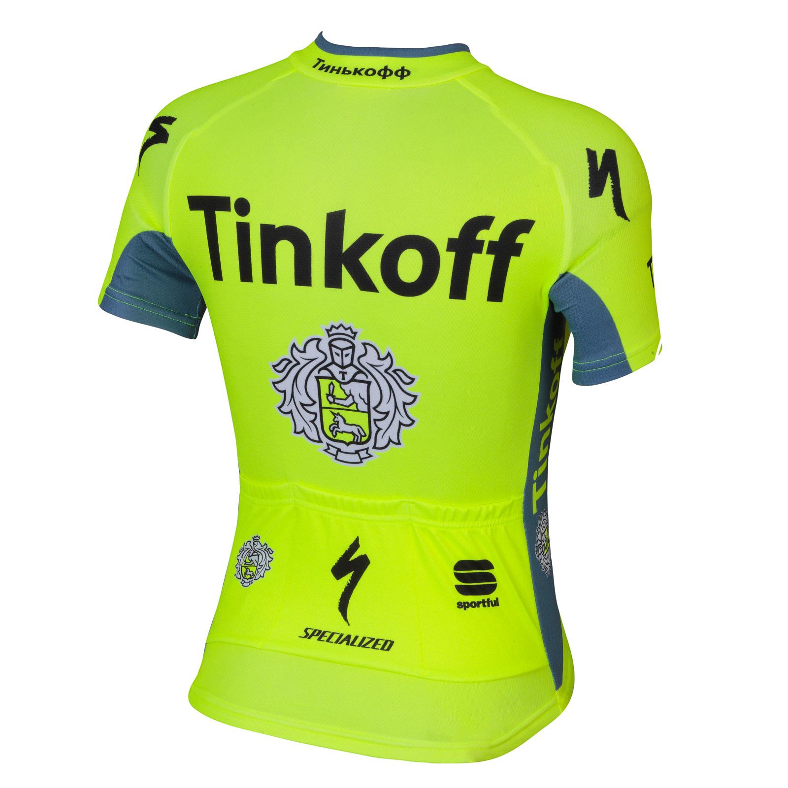 d1e3f006bae20 Sportful Tinkoff Detský Dres