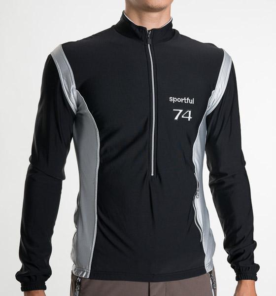 Sportful 74 Top čierny/strieborný