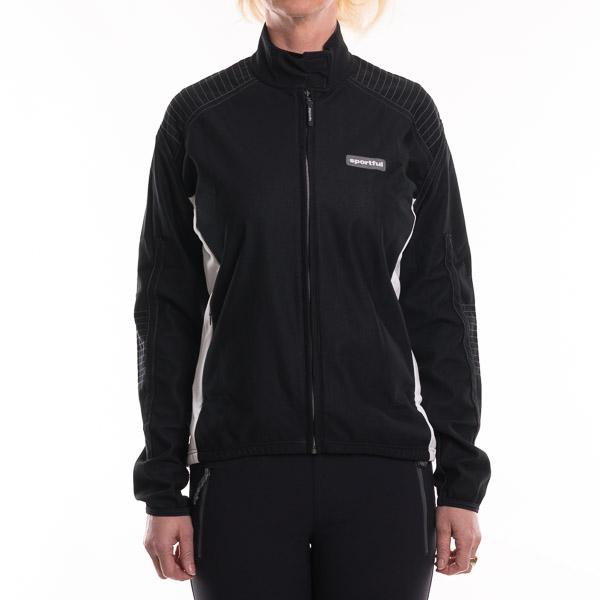 Sportful Dash GORE WindStopper bunda dámska čierna-biela