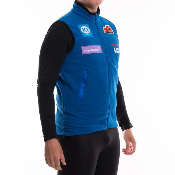 Sportful Fleece Vesta SUOMI modrá