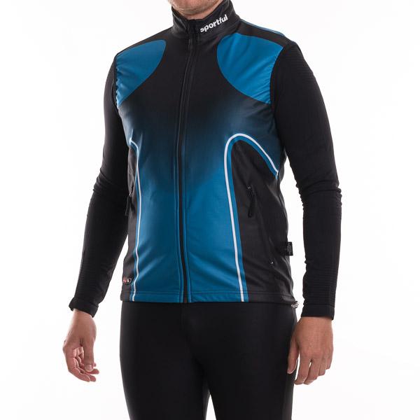 Sportful Moritz Gore WindStopper Vesta čierna-modrá