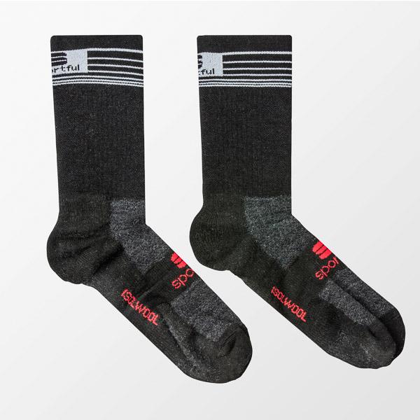 Sportful Merino vlnené ponožky čierne