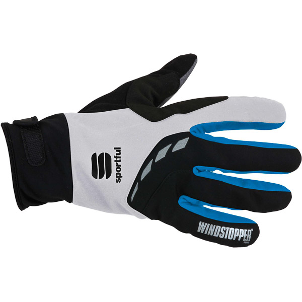 Sportful Windstopper XC Rukavice biele/modré