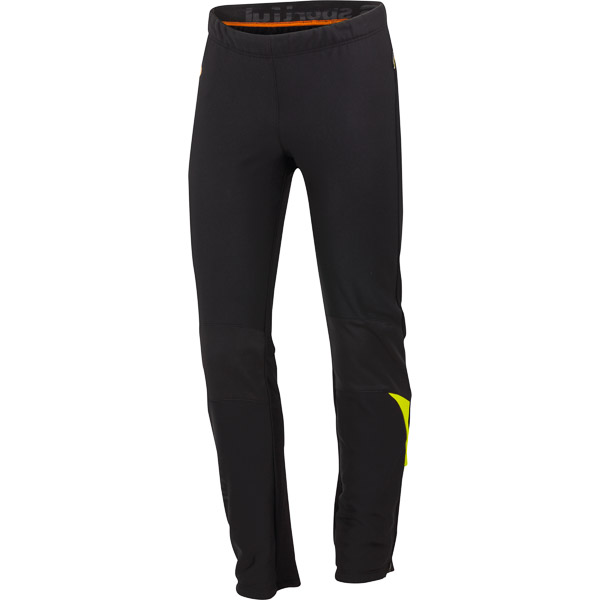 Sportful Squadra WS 2 Nohavice čierne/krikľavožlté