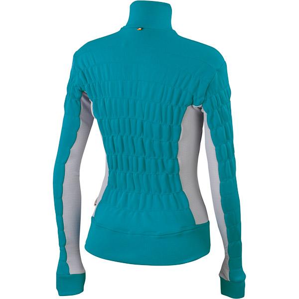 Sportful Punta dámska flísová bunda tyrkysová