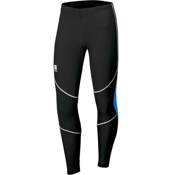 Sportful CARDIO TECH elastické nohavice čierne/modré