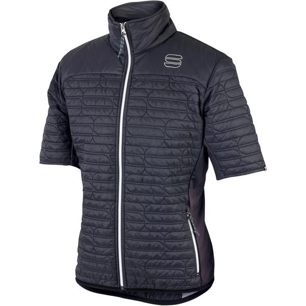 Sportful Rythmo bunda s krátkym rukávom tmavosivá