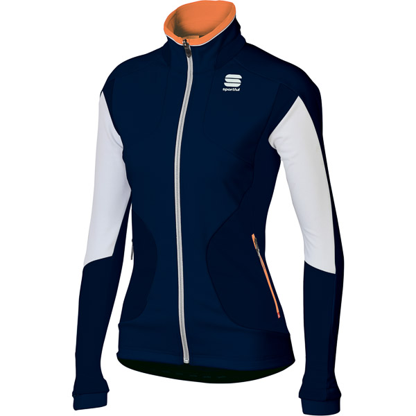 Sportful Apex Evo Gore WindStopper Bunda dámska modrá/biela