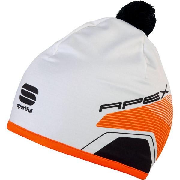 Sportful Apex Race čiapka biela/čierna/oranžová