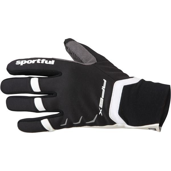 Sportful Apex Race rukavice čierne/biele