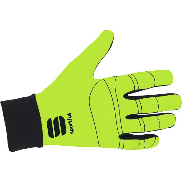 Sportful Lycra Race rukavice fluo žlté/čierne