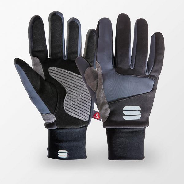 Sportful Subzero rukavice čierne/tmavosivé