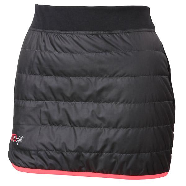 Sportful Rythmo Doro sukňa čierna/fluo koralová