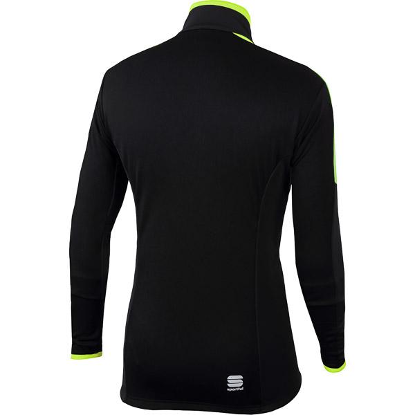 Sportful Squadra Gore WindStopper bunda čierna/fluo žltá