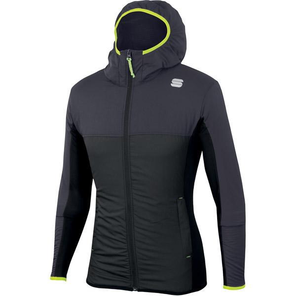 Sportful Xplore bunda tmavosivá/čierna