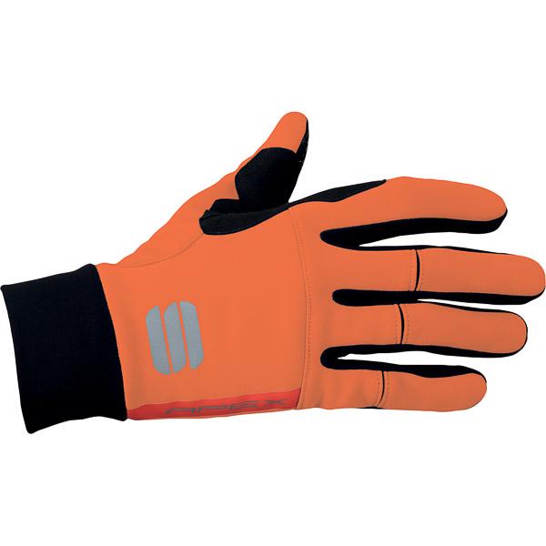 Sportful Apex rukavice oranžové