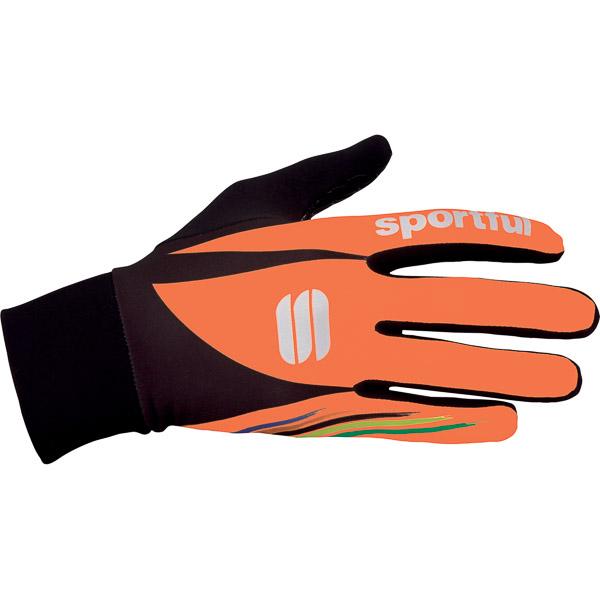 Sportful Lycra Chicco rukavice oranžové