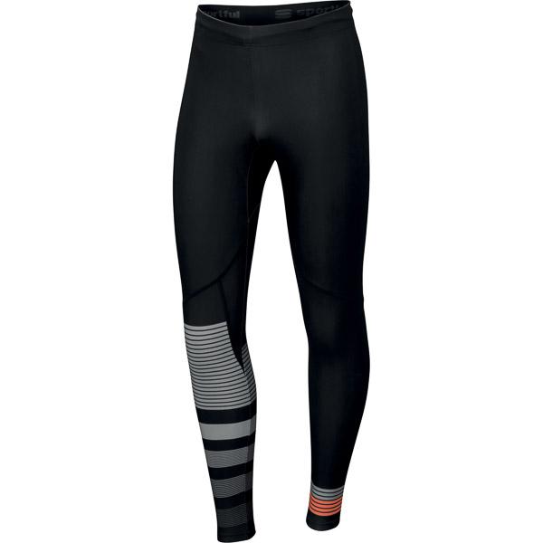 Sportful Squadra elasťáky čierne/sivé