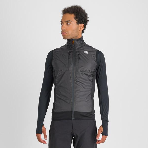 Sportful Cardio Tech Wind vesta čierna