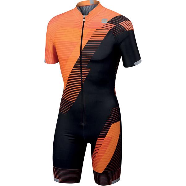 Sportful Training Sk. letná kombinéza čierna/oranžová