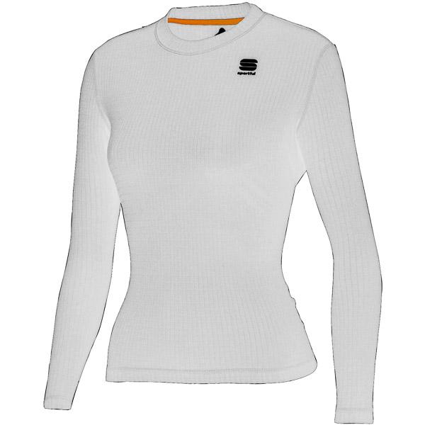 Sportful MID Termo Tričko dlhý rukáv dámske biele