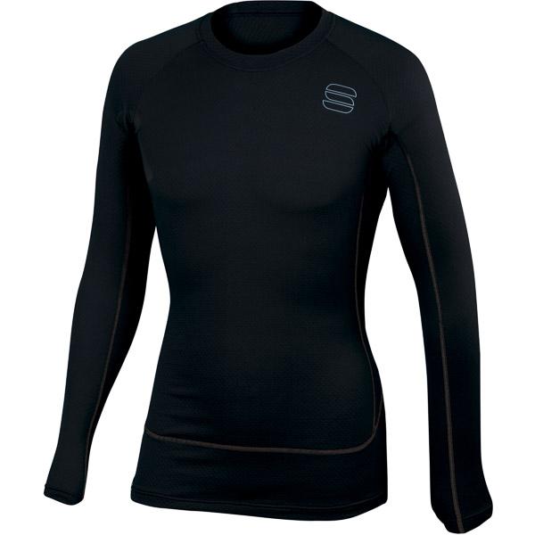 Sportful TD Mid Termo tričko dlhý rukáv čierne