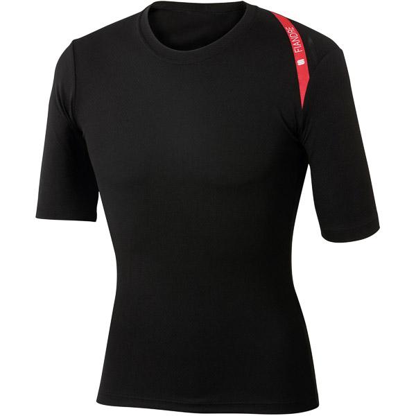 Sportful Fiandre Termo tričko krátky rukáv čierne
