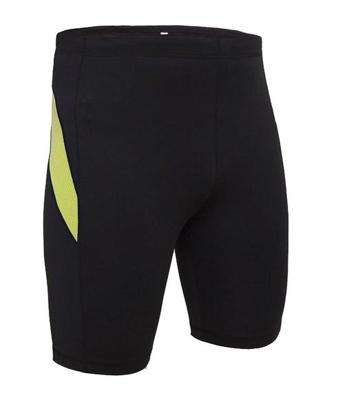 OneWay GAIL Krátke elasťáky, čierne/zelené prvky