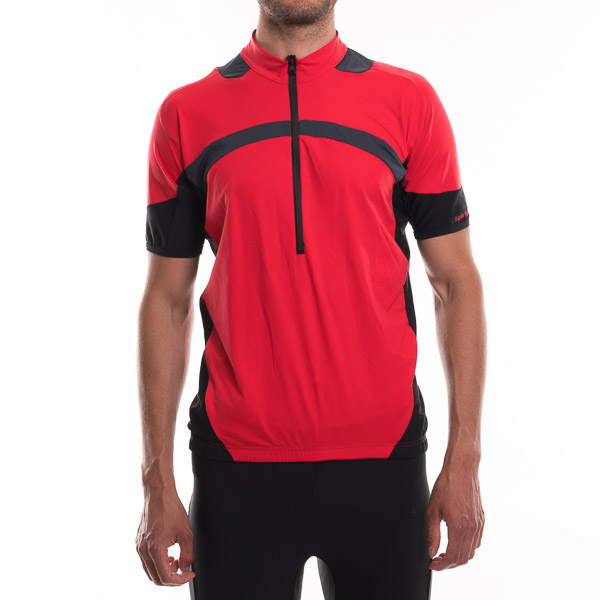 Sportful Python Dres pánsky červená-čierna