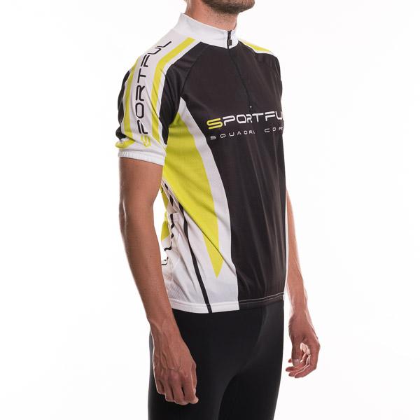 Sportful Rapid Dres pánsky čierna-zelená-biela